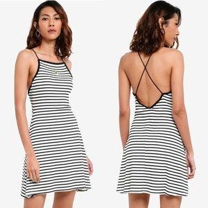 NWT Topshop striped minidress